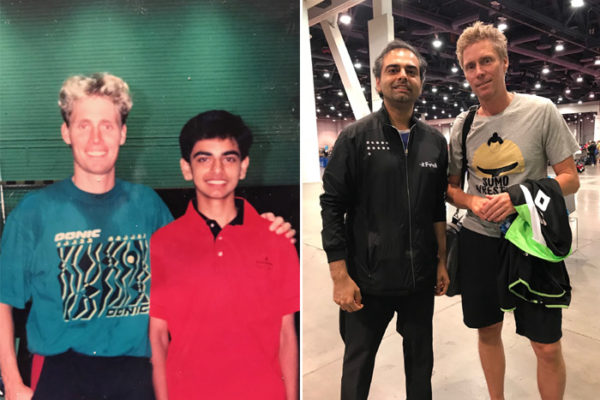 Shashin Shodhan has been to former World Champion Jorgen Persson's home club many times and had the same coaches as him.