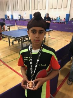 Newark table tennis students have been medalists in Newark table tennis tournaments!