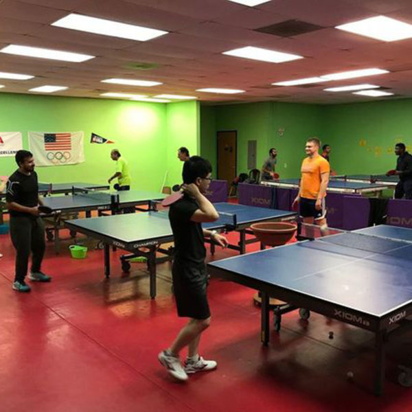 Adult table tennis classes