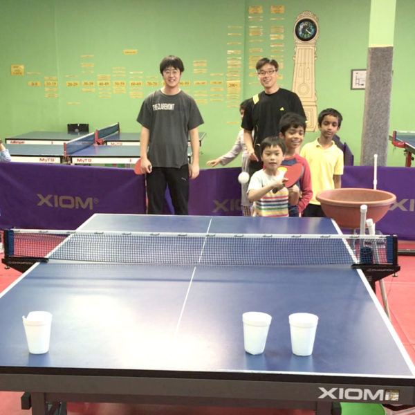 weekend beginner intermediate table tennis classes