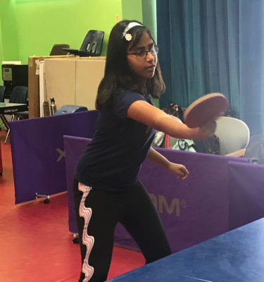 weekly table tennis league