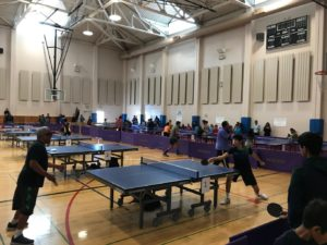 Table Tennis Tournaments in the San Francisco Bay Area