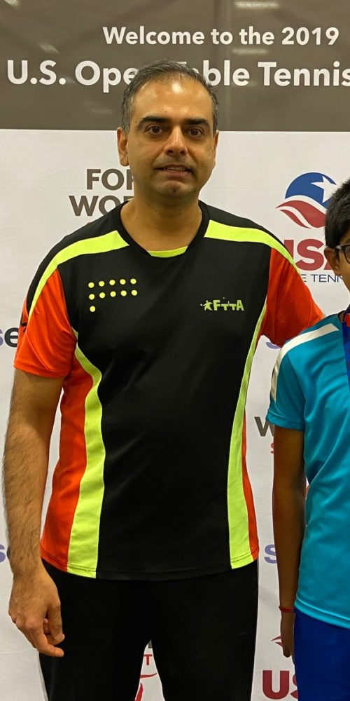 SHASHIN SHODHAN IS A CURRENT USA TABLE TENNIS NATIONAL CERTIFIED COACH AND GIVES COACHING AND LESSONS TO ALL STUDENTS.