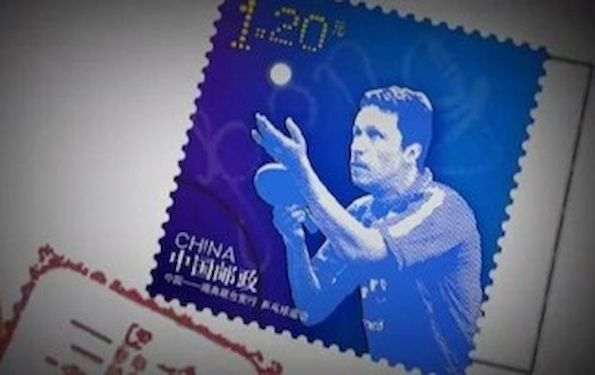 waldner-table-tennis-stamp-in-China