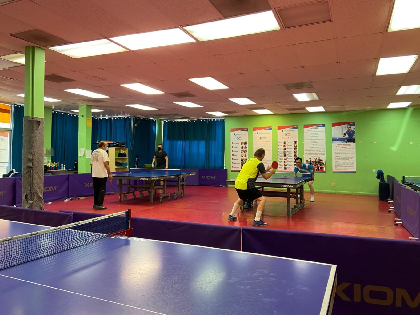 Fremont Table Tennis Academy Tournament