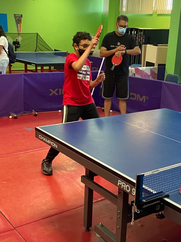 Thanksgiving, Winter, and Christmas Table-Tennis Camps