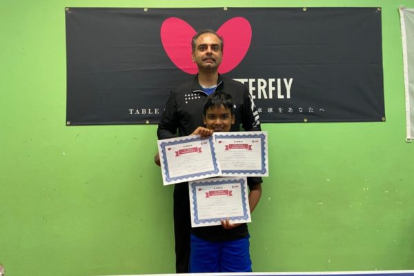 10-year old Siva wins 1st, 2nd, and 3rd at a local tournament!