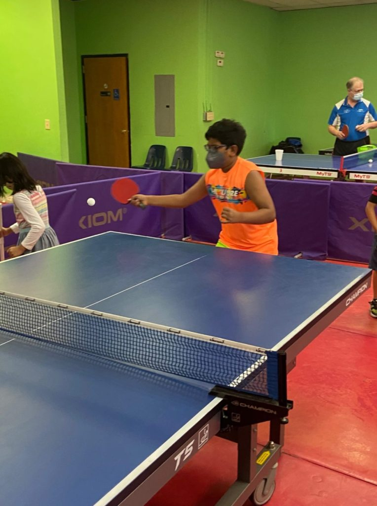 Group Lessons in August at Fremont Table Tennis Academy