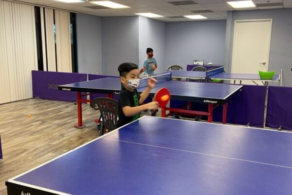 Private Table Tennis Lessons in San Ramon