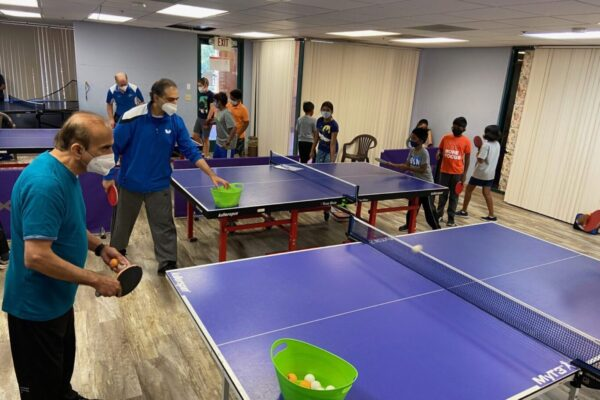Fremont Table Tennis Academy Tri-Valley Branch in session