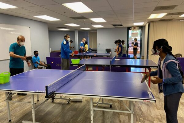 Group Table Tennis Class in Tri Valley