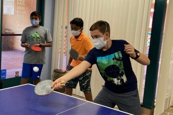 Learning the table tennis fundamentals