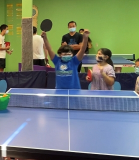 Thanksgiving, Christmas, and Winter Table Tennis Camps