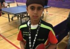 Newark table tennis students at nearby tournaments.