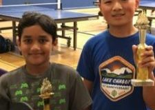 Tri Valley Dublin students Vishnu and Edwin teamed up to win 3rd place at their first table-tennis tournament!!